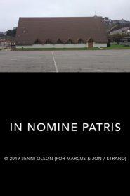 In Nomine Patris – Filme 2019